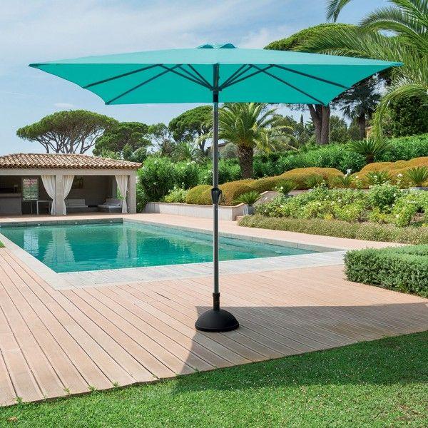 parasol droit parasol voile et paravent eminza. Black Bedroom Furniture Sets. Home Design Ideas