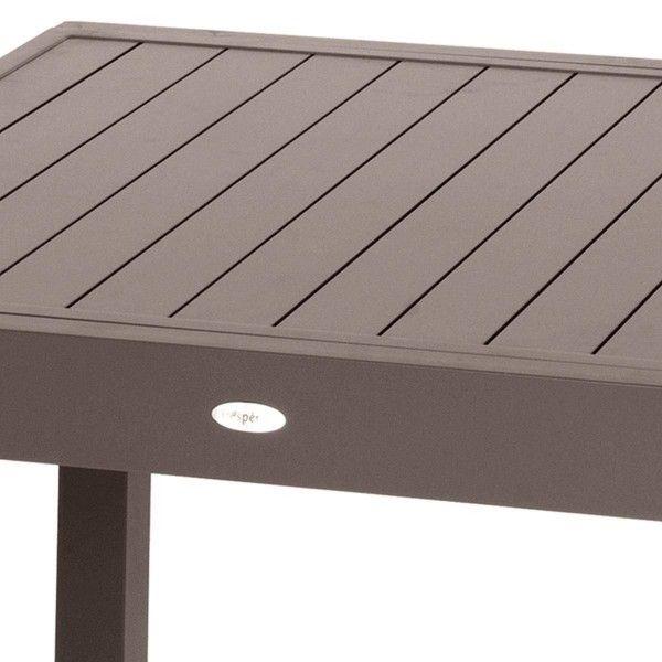 Table de Jardin extensible Piazza Aluminium (320 x 100 cm)- Moka ...