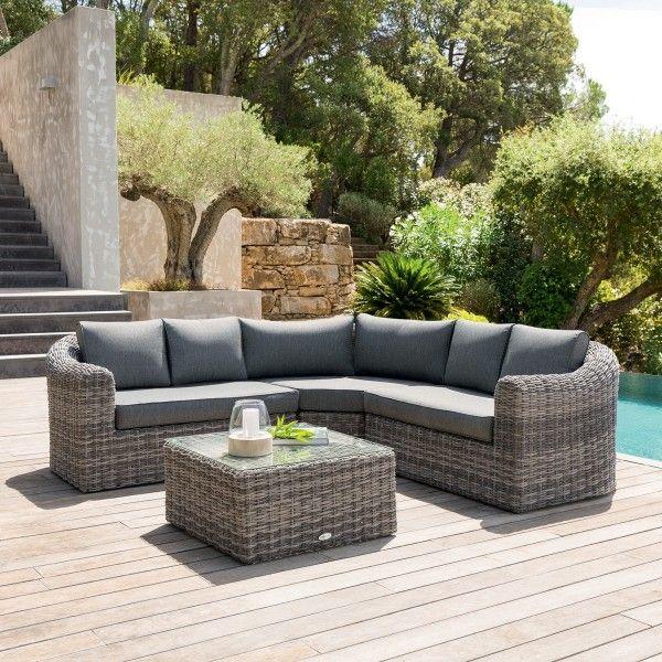 salon de jardin moorea gris chin 5 places salon de jardin table et chaise eminza. Black Bedroom Furniture Sets. Home Design Ideas