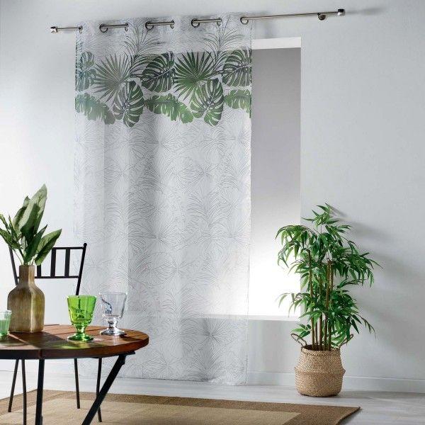 Voilage 140 x 240 cm amazon vert rideau voilage for Kuchenschranke 240 cm