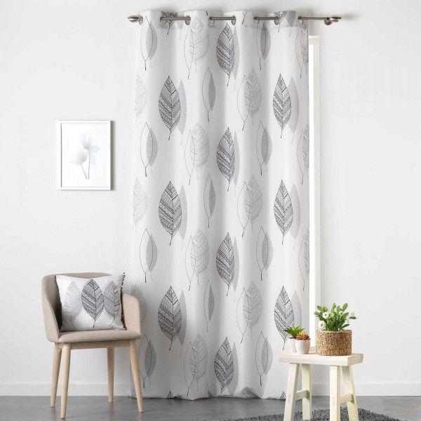 Vorhang (140 x 260 cm) Belinda Schwarz/Weiß