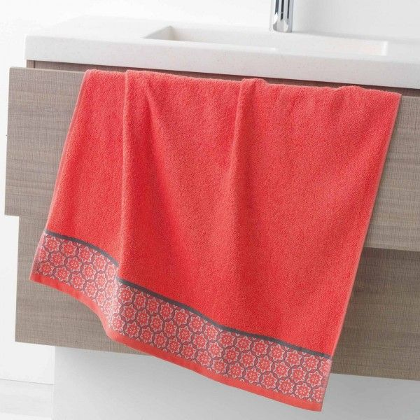Toalla (70 x 130 cm) Adelie Coral