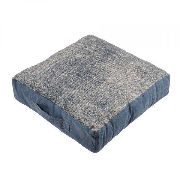 cuscino da pavimento 45 cm used blu cuscino da pavimento e pouf eminza. Black Bedroom Furniture Sets. Home Design Ideas