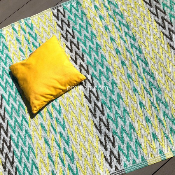 tapis dextrieur 160 x 260 cm ikati anis - Tapis Exterieur
