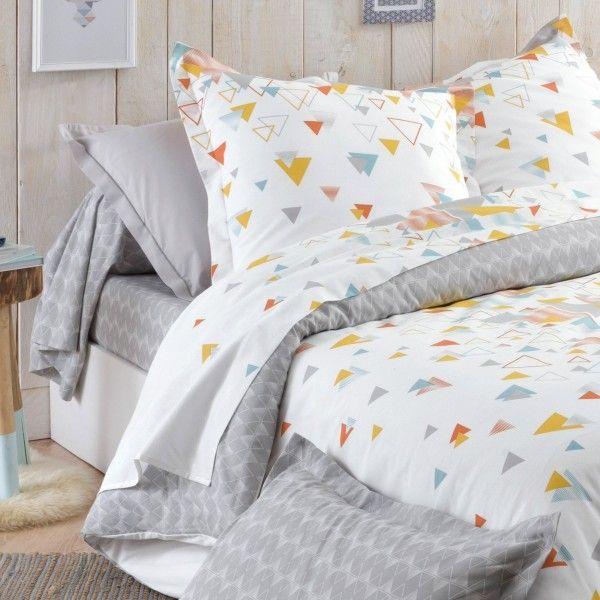 taie de traversin coton sup rieur l200 cm helsi multicouleur linge de lit eminza. Black Bedroom Furniture Sets. Home Design Ideas