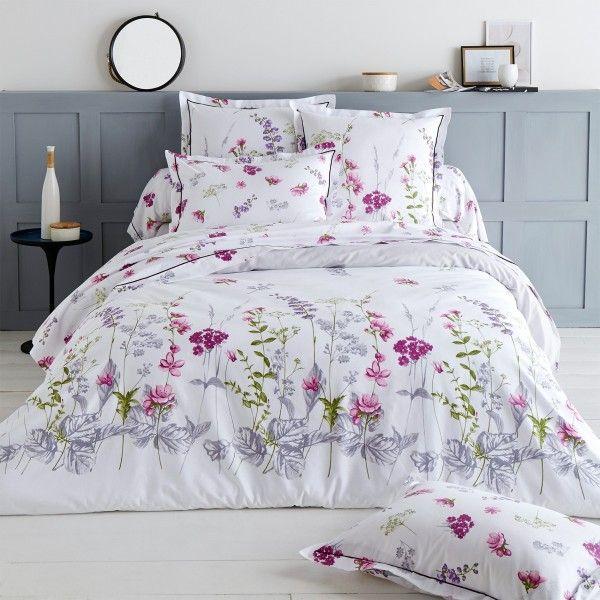 housse de couette coton 300 cm pretty blanc linge de lit eminza. Black Bedroom Furniture Sets. Home Design Ideas