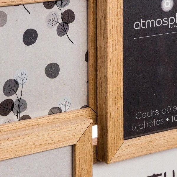 p le m le 6 photos nature bois d coration murale eminza. Black Bedroom Furniture Sets. Home Design Ideas