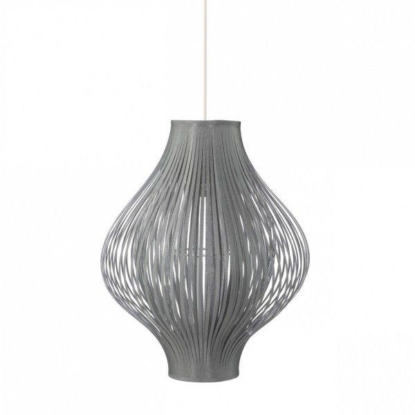 suspension yisa gris luminaire eminza. Black Bedroom Furniture Sets. Home Design Ideas