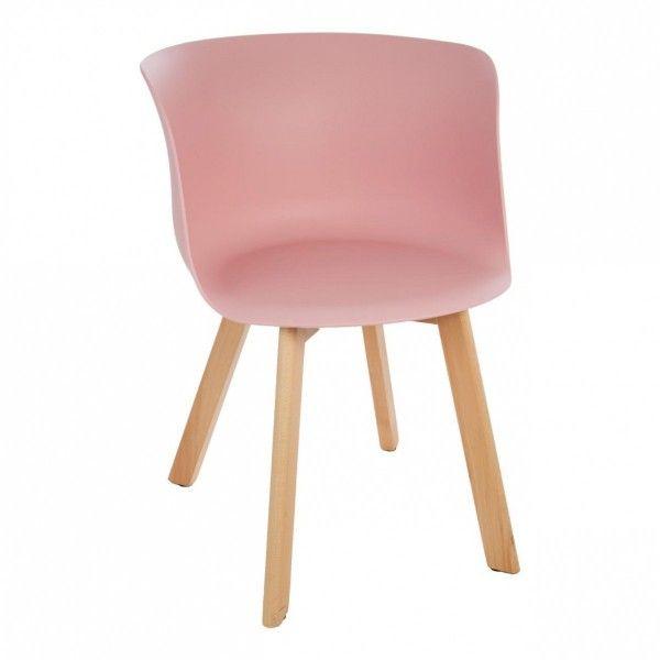 Sedia celo rosa sedia e sgabello eminza for Sedia rosa