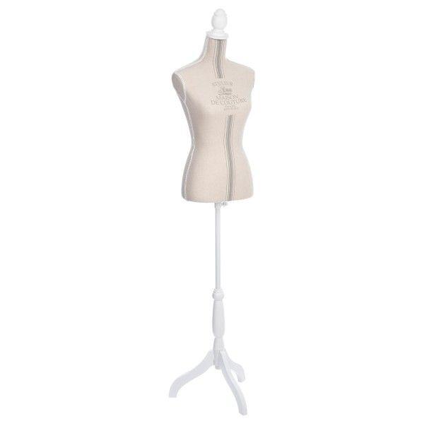 Mannequin Esprit Campagne Blanc - Meuble de rangement - Eminza 4bdb9c287cd4