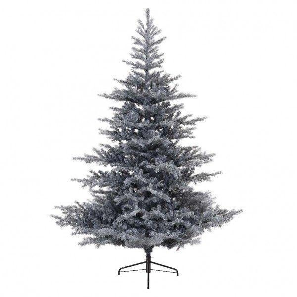 sapin artificiel de no l grandis h150 cm vert givr sapin et arbre artificiel eminza. Black Bedroom Furniture Sets. Home Design Ideas