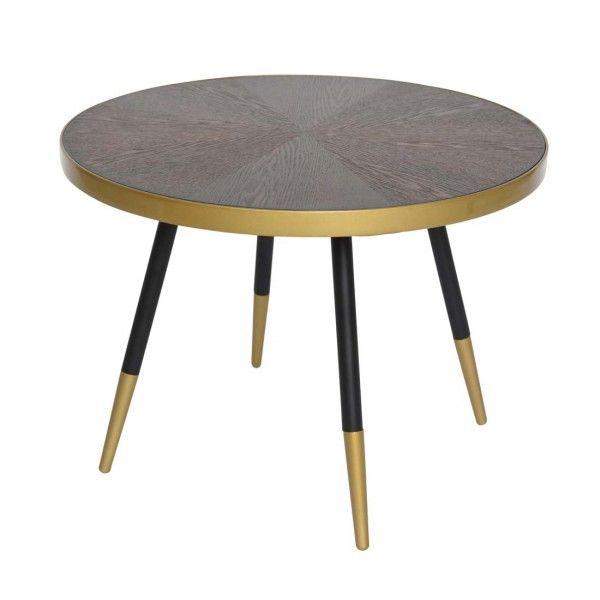 table basse daisy marron brun table basse table d. Black Bedroom Furniture Sets. Home Design Ideas