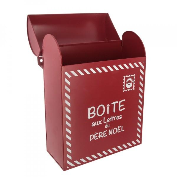 Image De Lettre De Noel.Boite Aux Lettres Rouge