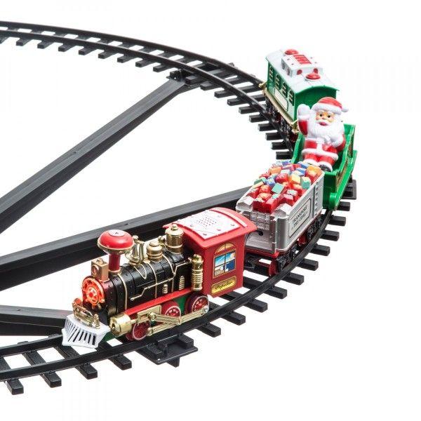 Train Sapin De Noel Train électrique pour sapin Montparnasse   Village de Noel   Eminza