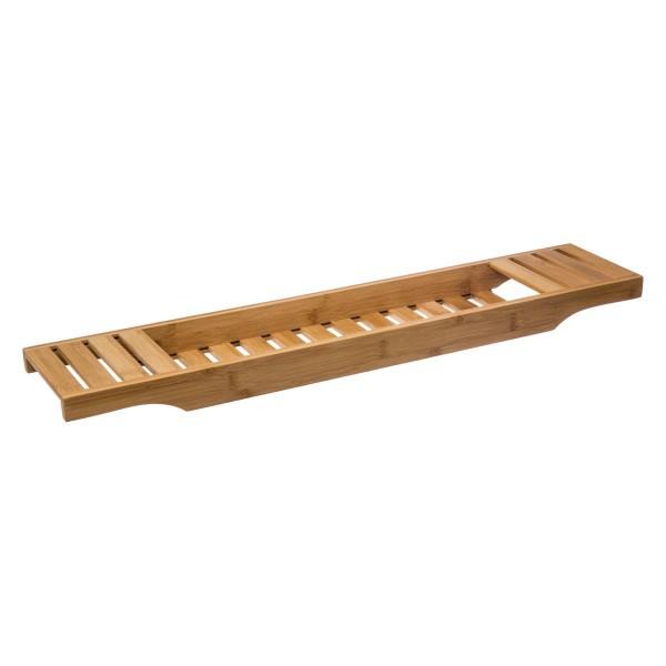 Plateau Baignia Bambou Accessoire Salle De Bain Eminza