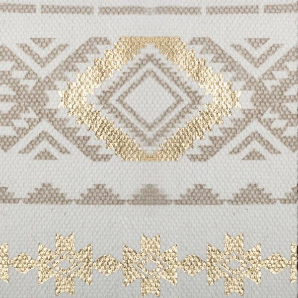 Housse de Coussin 40x40 Beige etnik Gold
