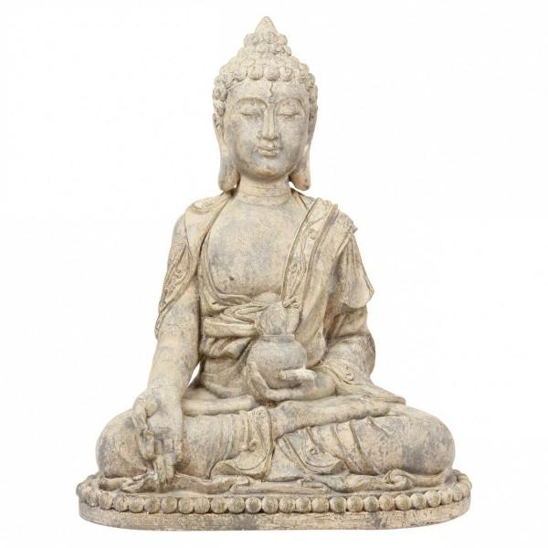 Bouddha Assis Sable H65 Accessoire Deco Eminza