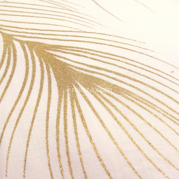 Bettwasche Aus Hochwertiger Baumwolle 240 Cm Sensalia Rosa Gold