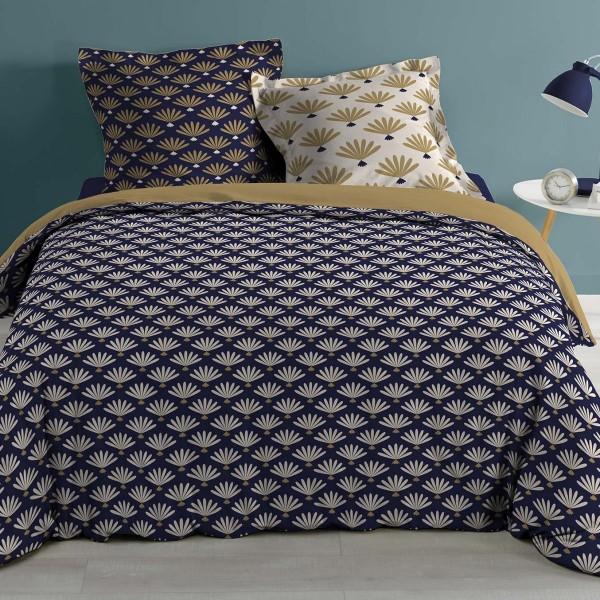 Bettwäsche Aus Hochwertiger Baumwolle Windsor 260 Cm Blau