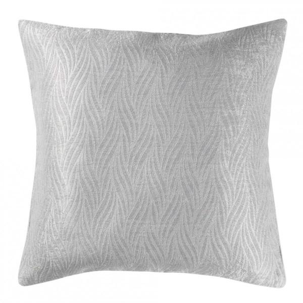 housse de coussin 40 cm shadow gris clair d co textile. Black Bedroom Furniture Sets. Home Design Ideas