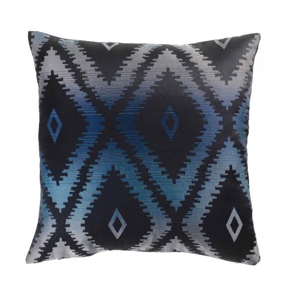 housse de coussin 40 cm triomina bleu d co textile. Black Bedroom Furniture Sets. Home Design Ideas