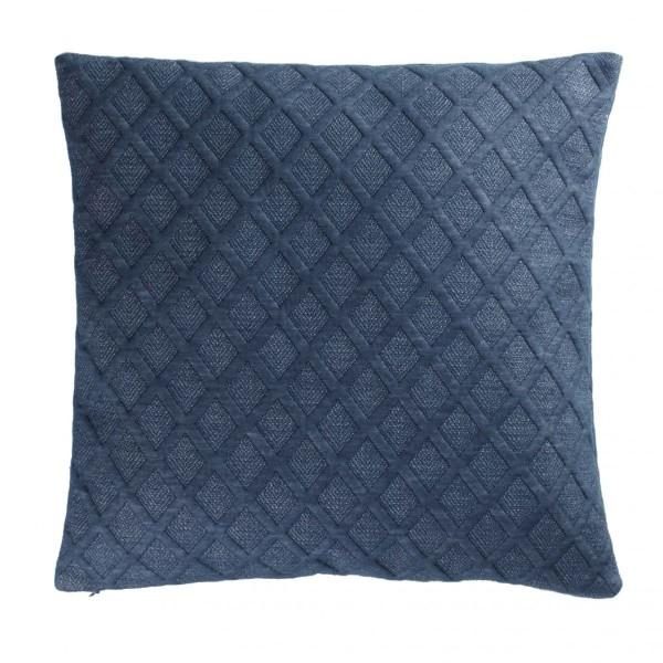 housse de coussin 40 cm mora bleu d co textile eminza. Black Bedroom Furniture Sets. Home Design Ideas