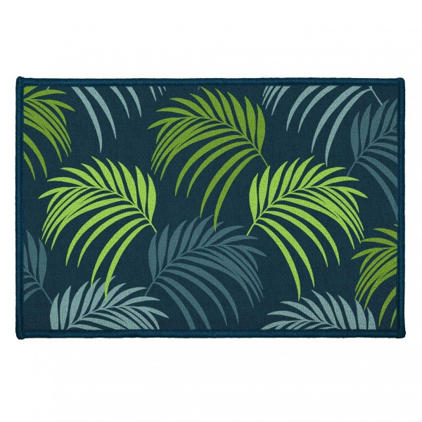Tapis multi-usage (60 cm) Blue Vegetal Bleu