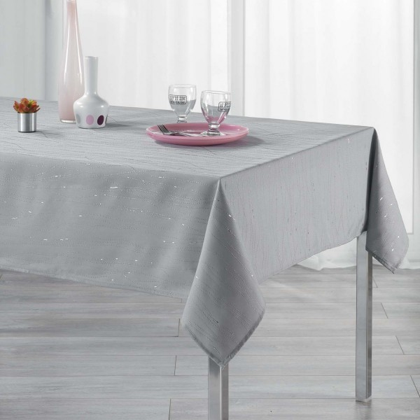 Mantel rectangular (L300 cm) Filiane Gris