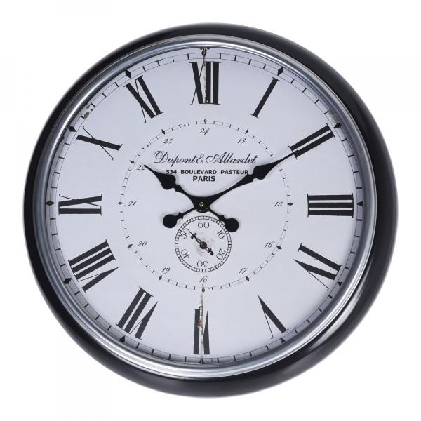 8531ccff4de2a Horloge Dupont Blanche - Décoration Murale - Eminza