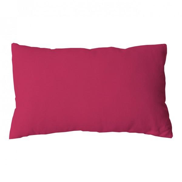 Coussin rectangulaire Etna Rose fuchsia - Déco textile ...