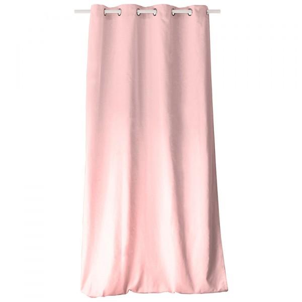 rideau tamisant 135 x 240 cm etna vieux rose rideau voilage store eminza. Black Bedroom Furniture Sets. Home Design Ideas