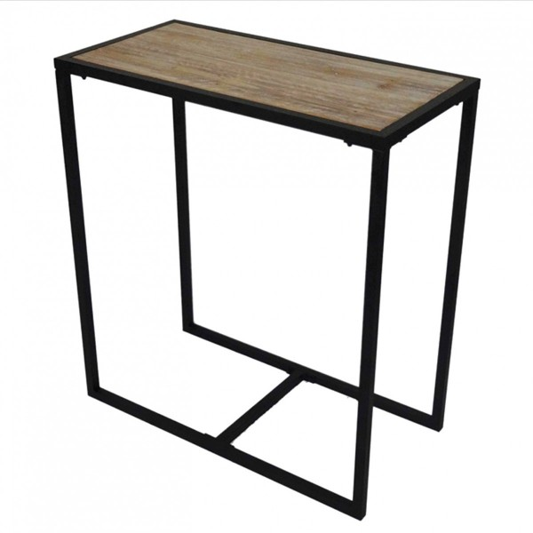 Table De Bar Noir.Table De Bar Loft Noire