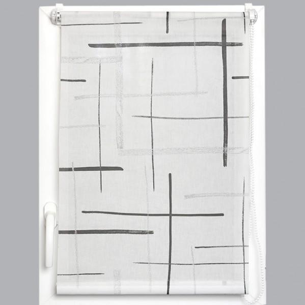 rollo 90 x 180 cm trocadero wei gardinen vorh nge. Black Bedroom Furniture Sets. Home Design Ideas