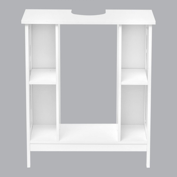 meuble dessous lavabo composeo blanc meuble de salle de bain eminza. Black Bedroom Furniture Sets. Home Design Ideas