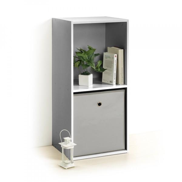 etag re homea 2 cases argent meuble de rangement eminza. Black Bedroom Furniture Sets. Home Design Ideas