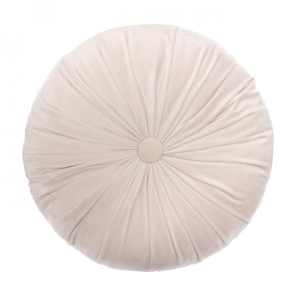 Coussin rond Dolce Rose - Déco textile -