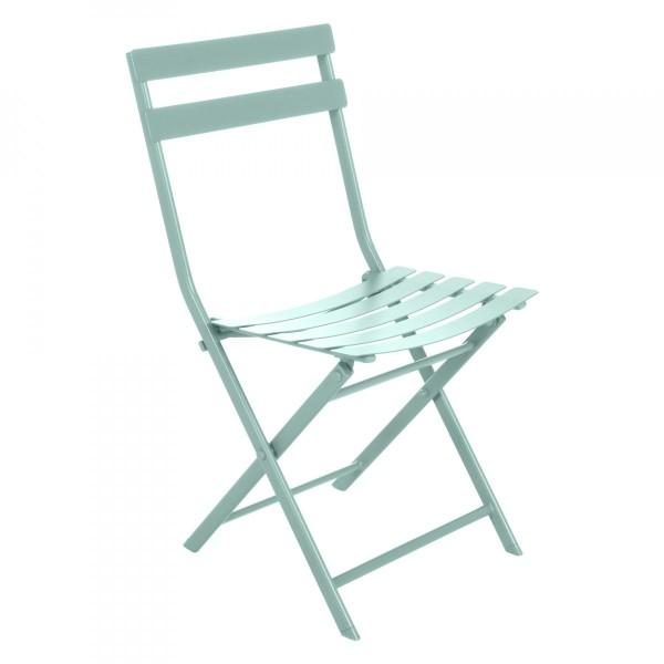 Chaise De Jardin Pliante Greensboro Vert Celadon Salon De Jardin