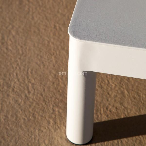Lounge-Set Sydney Weiß/Beige - 4-teilig