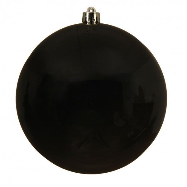 Boule de Noël (D140 mm) Alpine Noir   Boule et déco de sapin   Eminza