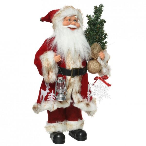 Babbo Natale 60 Cm.Babbo Natale Thomas Alt 60 Cm Decoro Di Natale Per La Casa Eminza