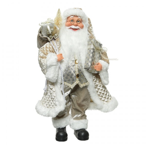 Babbo Natale 60 Cm.Babbo Natale Charles Alt 60 Cm Decoro Di Natale Per La Casa Eminza