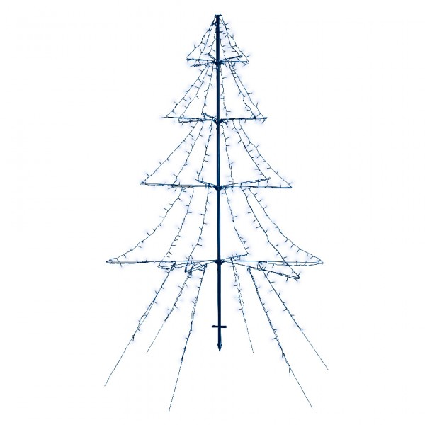 Sapin lumineux Blanc froid 420 LED