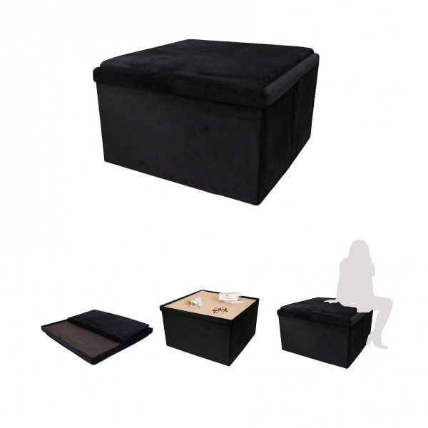 images/product/600/072/2/072287/coffre-pouf-pliable-table-velours-noir-76x76cm-m1_72287_1
