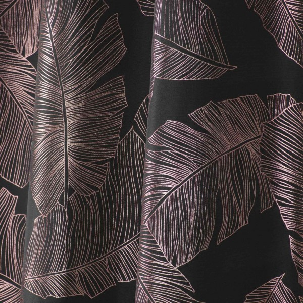 images/product/600/073/1/073141/rideau-a-oeillets-140-x-260-cm-polyester-imp-metallise-veggy-anthracite-or-rose_73141_1