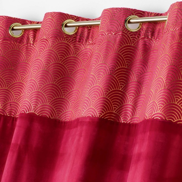 images/product/600/073/1/073159/rideau-a-oeillets-140-x-240-cm-velours-top-imprime-or-duchesse-framboise_73159_1