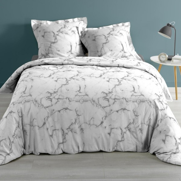 Funda nórdica y dos fundas para almohadones algodón (260 cm