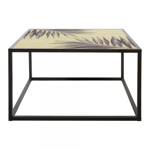 Table basse Slow Time Noire