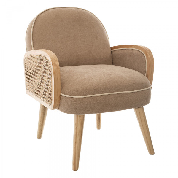 Fauteuil Canage Taupe