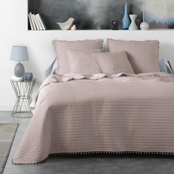 Federe Cuscini 60 X 60.Federa Cuscino 60 Cm Dorinette Rosa Pallido Tessuto Decorativo
