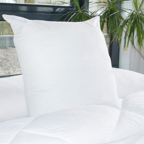 Cuscini Quadrati Letto.Set Di 2 Cuscini Quadrati 60 Cm Volume Bianco Biancheria Da